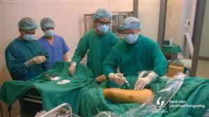 Điều trị suy tĩnh mạch chi dưới bằng laser